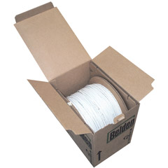 1000' Bulk Cat6 Solid UTP Cable - Gray